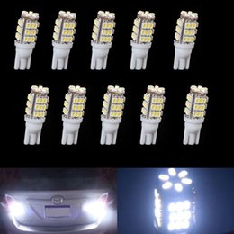 car front smd NZ - Free Shipping 10 x T10 Cool White Car 42-SMD Backup Reversing LED Light Bulbs 921 912 906 168 W5W CLT_02A