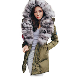 1d6e43f7a5c TOP Quality Large Real Fox Fur 2017 Winter Jacket Women Natural Fur Collar  Hooded Down Jacket For Women Winter coat female Parka