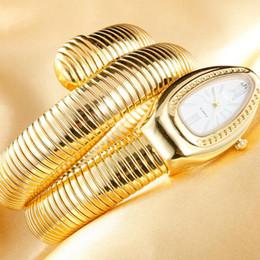 Vente en gros Cristaux Serpent Bracelet Montres Femmes Infinity Bracelet Montre Filles Designer Quartz Horloge Relojes LL