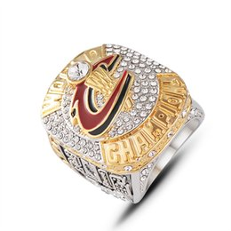 China LeBron 2016 Alloy world basketball Championship Ring With Wooden Box cheap crystal side suppliers