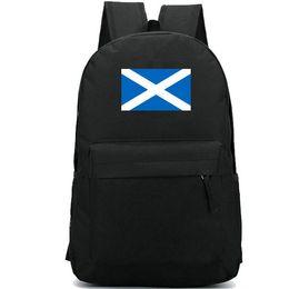 Zaino con bandiera della Scozia Pacchetto giorno di stato caldo Borsa scuola con bandiera country Borsa casual Zaino buono Zaino sportivo Zaino per esterni