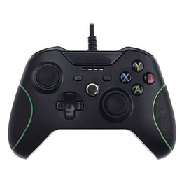 XboX one controllers online shopping - Wire Gamepad Game Controller Joystick for XBOX ONE and PC USB Wired Controller Gamepad with Dual Vibration Joypad