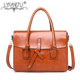 $enCountryForm.capitalKeyWord Canada - LYKANEFU Retro Women Leather Handbag for Business Briefcase Handbags Satchel Bag Ladies PU Leather Tote Shoulder Bags Designer