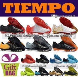 $enCountryForm.capitalKeyWord Canada - Cheap Sale 2018 Original Mens Leather Football Boots Tiempo Legend VII FG Soccer Shoes Outdoor Firm Ground Tiempo Soccer Cleats Size 39-46