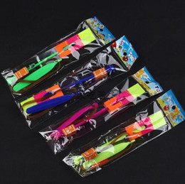 Wholesale Toys Helicopter NZ - 400PCS DHL Amazing Arrow Helicopter Light Up Flying Arrow New Product New Toy Lowest Price Flying Arrow New Toy