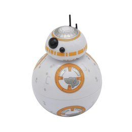 Discount metal death - Death Star 3 Layers Herb Grinder Crusher Colorful Metal 50mm Spice Miller Robot Shape High Quality Smoking Accessories M