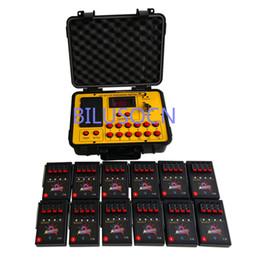 Venta al por mayor de Sistema de disparo de fuegos artificiales de Bilusocn FedEX DHL Envío gratuito, un lote determinado, sistema de disparo remoto, sistema de fuego pirotécnico de 48 canales
