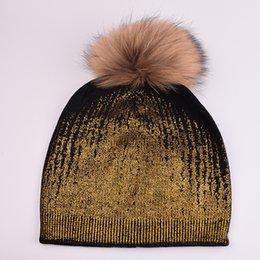 A293 Rabbit Fur WOMEN Cotton Knit Beanie WINTER Visor Ski Top Winter Cloche Hat