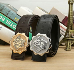 genuine leather strap male belt 2019 - Beautiful Snake hair Banshee Luxury belts High Quality Designer Mens womens belt Strap Male jeans Belts for gift cheap g