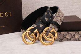 $enCountryForm.capitalKeyWord Australia - New product Men G buckle Belts Luxury Pin buckle genuine leather belts for men designer mens belt women waist belts free shipping