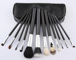 НОВИНКА хорошее качество Лучшие продажи кисти для макияжа 12 шт. Набор Профессиональный BrushPowder Foundation Blush Кисти для макияжа Набор кистей для теней для век на Распродаже
