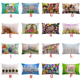$enCountryForm.capitalKeyWord Australia - Happy Easter Sofa Bed Home Bedroom Festival Pillowcase Pillow Cover Solf Pillow Slip Covers High Quality Comfortable 10JUL 13 Case