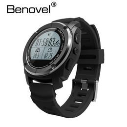 China Benovel S02 GPS Sport Smart Watch Heart Rate Height Monitor Bluetooth SmartWatch Fitness Tracker Outdoor Running Speed Race Band supplier gps watch run suppliers