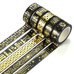 $enCountryForm.capitalKeyWord Canada - Wholesale- 2016 11.5CM*10M Washi Tape Adhesive Colorful Pattern Tape Self Adhesive Decorative Sticker Rolls Decor Masking Paper Tape DI