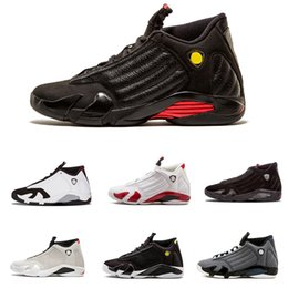 0f3b0db1f9b3e7 2018 shoes 14s trainers basketball shoes last shot black toe thunder gs red  suede Varsity Red Oxidized Thunder Sport sneaker boot size 40-47