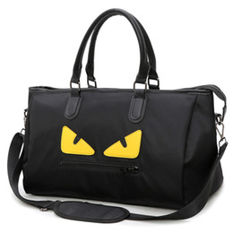 $enCountryForm.capitalKeyWord Canada - 2018 new style Large capacity Little Monsters Oxford luxury travel bag Casual designer handbags shoulder bag student mochila tote bags