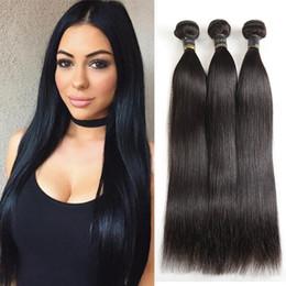 $enCountryForm.capitalKeyWord NZ - Unprocessed 9A Brazilian Virgin Hair 4 Bundles Straight Human Hair Top Selling Virgin Brazilian Straight Hair Natural Colour