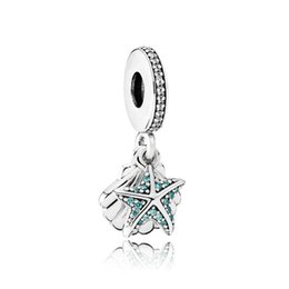 $enCountryForm.capitalKeyWord Australia - High Quality Pandora Starfish Pendants Big Hole Loose Beads DIY Jewellery Making 925 Silve Charm Bracelet Jewelry Making Party Gifts