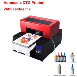 4e87769e2 T-shirt Printer Flatbed Printer Multicolor fully automatic DTG print on t  shirt cloths printing machine with textile ink