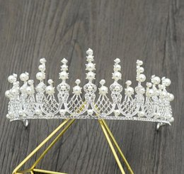 $enCountryForm.capitalKeyWord Australia - 2018 new brides wedding crown wedding dress accessories simple air wedding accessories photo studio accessories