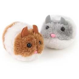 $enCountryForm.capitalKeyWord UK - Plush Toys Vibrate a Little Fat Mouse and vibrate Cat Action Figures Doll Soft Stuffed Animal Toys Novelty Items CCA10505 50pcs