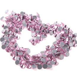 $enCountryForm.capitalKeyWord Canada - Ss6-ss30 Lt.Rose Various Sizes Hotfix Rhinestones Pink High Quality Hotfix Crystal Stones Austrian Crystal For Wedding Dress