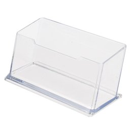 $enCountryForm.capitalKeyWord UK - Clear Desktop Business Card Holder Desk Office Organizer Display Stand Acrylic Office Supplies Desk Accessories