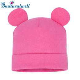 5a4110557980 Bnaturalwell Solid Baby Winter Hat Bonnet Enfant Kids Baby Boy Girl Child  Cotton Soft Warm Cap Beanie Toca Infantil H108D