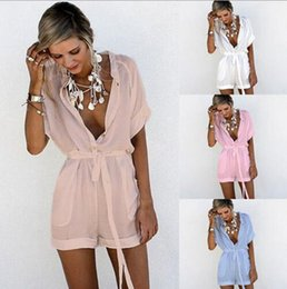 82173be5824 Sheer jumpSuitS romperS online shopping - Women Shorts Rompers Casual  Playsuit Ladies Jumpsuits Summer Ladies Sexy Find Similar