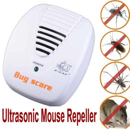 Electronic Ultrasonic Mouse Repellent NZ - Pest Control Anti Pest Control Device Trap Electronic Ultrasonic Pest Reject Repeller Rodent Mouse Rat Repellent Repeller