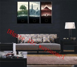 The Lord Of The Rings , 3 Pieces Home Decor HD Printed Modern Art Painting  On Canvas (Unframed Framed)