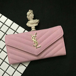 ab5bda2f5 Nueva moda WomenPurse Wallet Diseñador de cuero de alta calidad Creatividad  titulares de tarjetas Carteras para hombres y mujeres