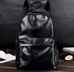 $enCountryForm.capitalKeyWord Canada - Factory wholesale brand package, fashion upgrade, PU leather leisure backpack, simple, multi-functional leather bags for students