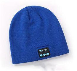 03f647c78b20a New Men women Beanie Bluetooth hat call music stereo warm cool knit  Bluetooth headset fashion cap