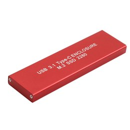 Discount mobile hard drive - MagiDeal USB 3.1 Type C to M.2 NGFF Adapter SSD Hard Disk Mobile Drive 120GB Red