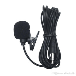 $enCountryForm.capitalKeyWord UK - 3.5mm TRS Microphone Kit Clip-On For Car GPS Interior Handsfree Calls With Jack and 3M Cable #4253
