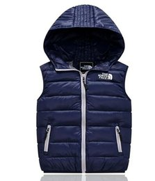 Winter Waistcoats for kids online shopping - New Children s Down Vest Autumn And Winter Kids Waistcoats Casual Clothing Colors For Years Children Jacket Coat