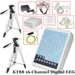 Wholesale CE Contec KT88 Channel Digital EEG System Machine Mapping System PC Software Tripods Brain Mapping Scanner