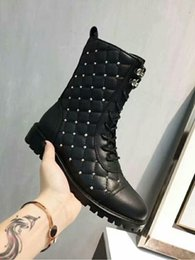 Discount casual shoes italy - V Home Italy Luxury Brand Designer Ankle Boots Women Winter Rivet Sheepskin Shoes Fashion Brand Casual Boots
