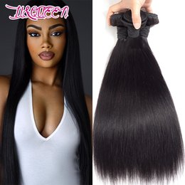 Malaysian Straight Hair Weave Australia - 8A Mink Malaysian Straight Hair Bundles Unprocessed Malaysian Straight Hair Weave bundles Malaysian Human Hair Extensions
