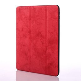 "Tablets Bundles UK - Ultra Slim Smart Cover For Apple 9.7"" iPad 2017 2018 9.7 A1822 A1823 A1893 A1954 Tablet Case PU Leather Cover +Stylus Pen+Film."