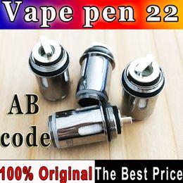 $enCountryForm.capitalKeyWord Canada - Authentic AB code Vape Pen 22 0.3ohm Vape pen Mesh Strip coil head for Vape Pen 22 Starter kits