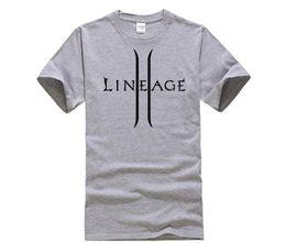 8a220a28b designer t shirt Lineage 2 The Chaotic Throne T-shirt Top Lycra Cotton Men  T shirt New Design