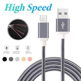 Опт Высокоскоростной тип кабель УСБ к 1М 2М 3М для Андроида Подгонянный высокоскоростной шнур данным по синхронизации заряжателя телефона для мобильных телефонов Андроида