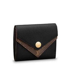 Double Thick Hat Australia - 2019 DOUBLE V COMPACT WALLET M64420 2018 NEW WOMEN FASHION SHOWS EXOTIC LEATHER BAGS ICONIC BAGS CLUTCHES EVENING CHAIN WALLETS PURSE