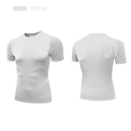 $enCountryForm.capitalKeyWord Canada - Compression shirts Fitness Body Buliding Tops Sports Clothing for Man Gym Tees Dry Fit Short Sleeve Running Apparel B5011 Hot Sale