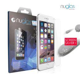 $enCountryForm.capitalKeyWord Australia - 100% Original Nuglas Tempered Glass Screen Protector Guard for iPhone 7 8 Ultra-thin tempered glass for iphone 8