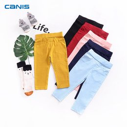$enCountryForm.capitalKeyWord Canada - 2018 Brand New Toddler Infant Kids Child Baby Boy Girl Stretch Pants Clothes Trousers Slacks Candy Color Casual Bottoms 1-6T