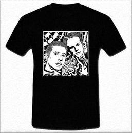 8c0db03aaf06 Paul Simon and Art Garfunkel American folk rock duo Black And White Shirt  S-2XL