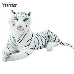 Kawaii Cute White 25cm Tigers Plush Toys Simulation Tigers Stuffed Dolls  Baby Pillow Plush Kid Toys Gift ce8a879493b0